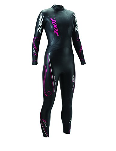 Zoot Sports Women's Z Force 1.0 Wetzoot, Black/Beet, X-Large