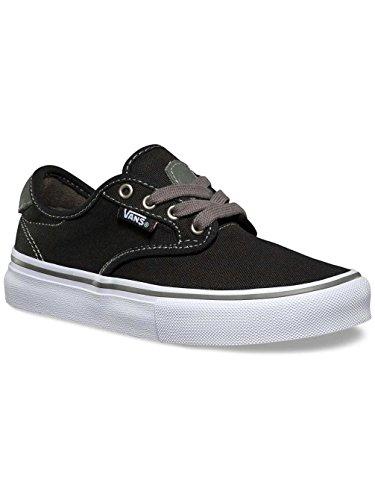 Kinder Skateschuh Vans Chima Ferguson Pro Skate Shoes Boys black/charcoal/white