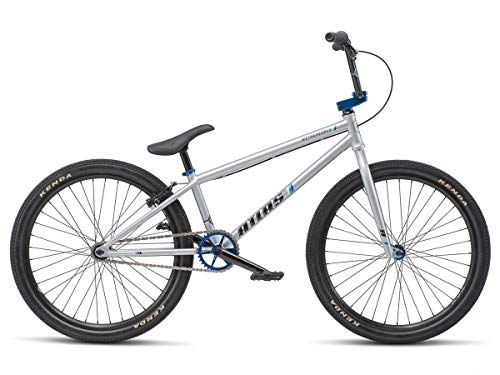 We The People Atlas 24 2019 Complete BMX Bike 22 Top Tube Bright Silver