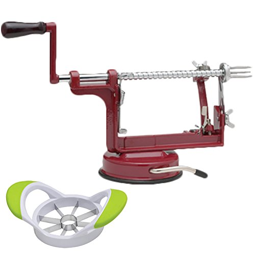 Apple Peeler Heavy Duty Machine and Apple Corer Stainless Steel by Mrs. Anderson's ()