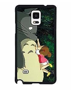 Fashion Style My Neighbor Totoro Phone Funda Case For Galaxy Note 4, My Neighbor Totoro Samsung Galaxy Note 4 Phone Funda Case