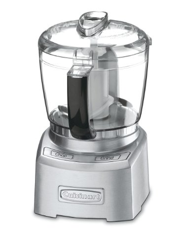 Cuisinart CGC-4PC3BC Elite Collection 4-Cup Chopper/Grinder, Die Cast (Certified (Chop Collection)