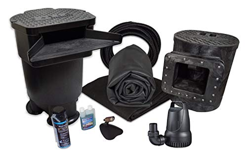 Half Off Ponds - MDS0 - Savio Signature 4100 Complete Water Garden and Pond Kit with Compact Skimmer, 22