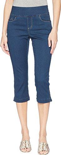 FDJ French Dressing Jeans Women's D-Lux Denim Pull-On Capris in Indigo Indigo 4