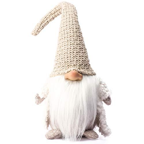 Funoasis Holiday Gnome Handmade Swedish Tomte, Christmas Elf Decoration Ornaments Thanks Giving Day Gifts Swedish Gnomes…