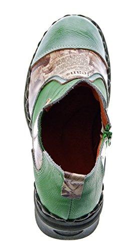 Vert tige basse Chaussures TMA à femme AwqzcZB