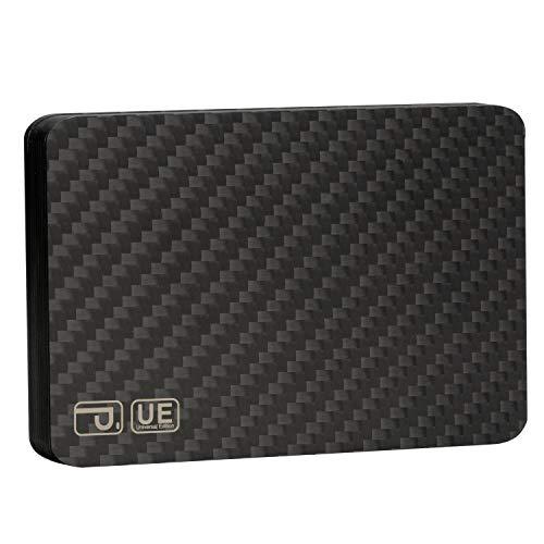 PITAKA Magwallet UE,Minimalist Slim Carbon Fiber Modular Card Holder RFID Blocking Wallet Matte Finish/Twill
