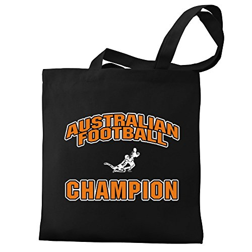 Australian Eddany Tote Bag Canvas Football Eddany Australian champion wzEn51xUWq