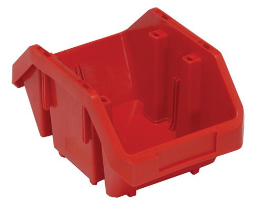 Quick Pick Double Sided Bin - Quantum Storage Systems QP965RD Quick Pick Bins 9-1/2-Inch by 6-5/8-Inch by 5-Inch, Red, 20-Pack