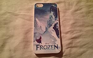 Disney Frozen iPhone 5 Case Cover - Disney Frozen iPhone 5s Hard Plastic Case Cover - Black