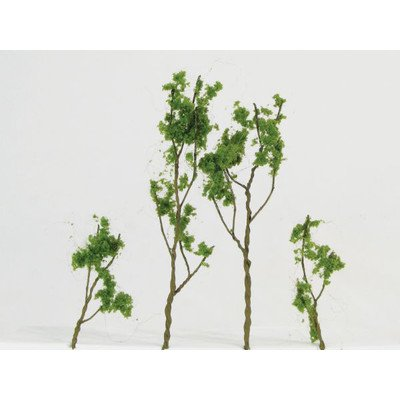 Architectural Model Foliage Tree (Set of 24) [Set of 2] Color: Light Green
