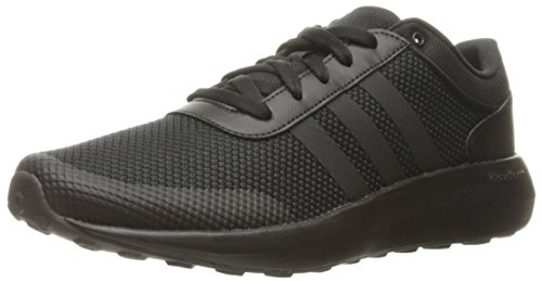 adidas Men's Cloudfoam Race Running Shoe, Black, 8 D - Medium