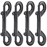 AOWESM 4 Packs Zinc Alloy Double Ended Bolt Snap