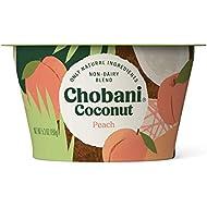 Chobani Non-Dairy, Coconut Blend, Peach 5.3oz