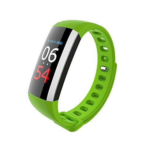 Lemumu G19 Smart Bracelet Waterproof Long Standby G-sensor Heart Rate Sensor - Evergreen