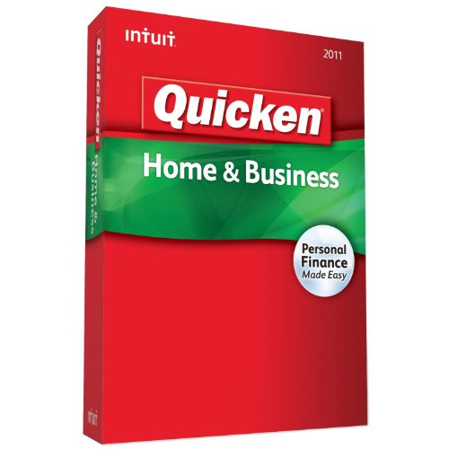Intuit Quicken Home Business 2011 product image