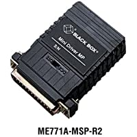 Black Box Async RS232 Extender over CATx DB25 F to Terminal Block Multipoint
