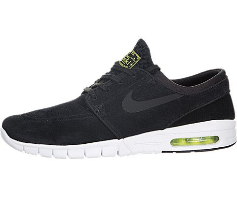 more photos 95808 1db43 Galleon - NIKE SB Zoom Stefan Janoski Max Black Cyber   White Black Skate  Shoes-Men 10.5, Women 12.0