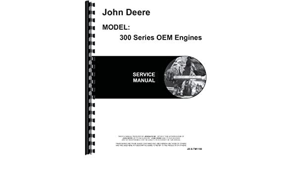 john deere 6 329d engine service manual john deere 6301147722881 rh amazon com John Deere Repair Manuals Online John Deere L111 Service Manual