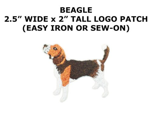 DOGS - BEAGLE PUPPY - PETS- ANIMALS - Iron On Embroidered Applique Patch by I.E.Y.online-store ()