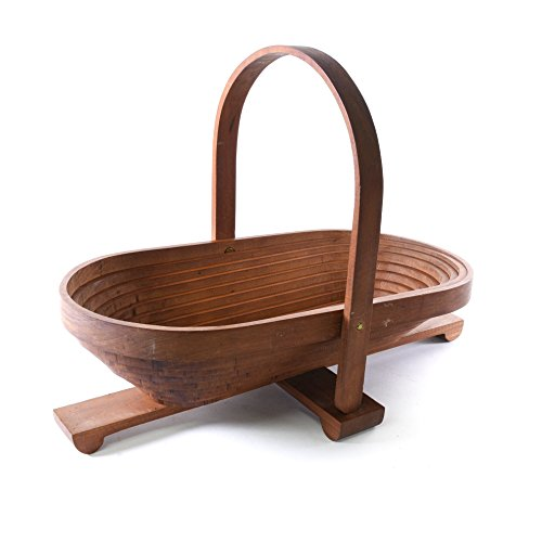 Amish Traditional Wood Collapsible Fruit Basket