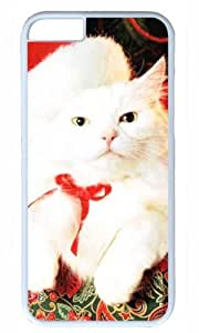 Cute cat animal Easter Thanksgiving Masterpiece Limited Design PC White Case for iphone 6 by Cases & Mousepads