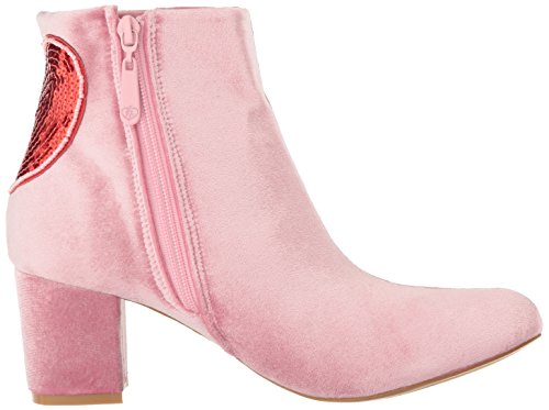 Women's Pink Fist Delight Bootie Iron Turkish Ankle Boot a5qB0T