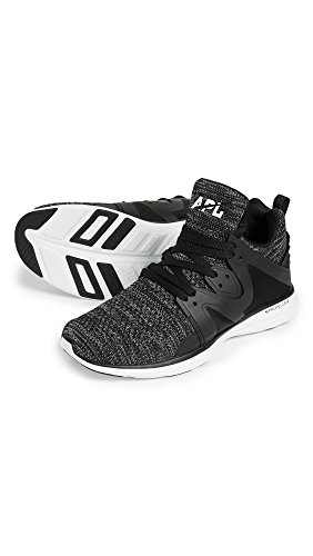 Apl: Laboratori Di Propulsione Atletica Mens Ascend Running Sneakers Black / Charcoal / Melange