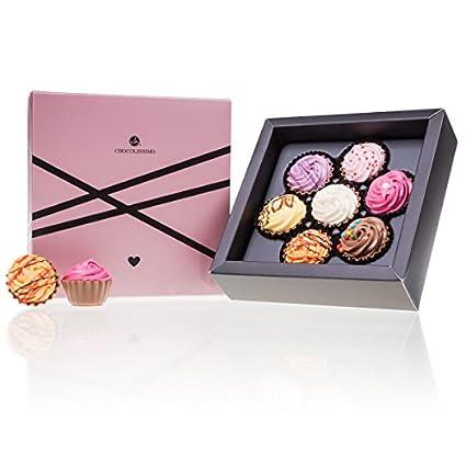 Love Cupcake 7 Pralinen In Cupcake Form Valentinstag Geschenk