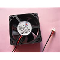 2 pcs Brushless DC Cooling Fan 12V 5015S 7 Blades 2 wire 50x50x15mm Sleeve-bearing Skywalking