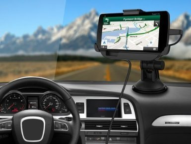 Google Nexus 5 Car Mount Dock With Built In Car Charger - Wi
