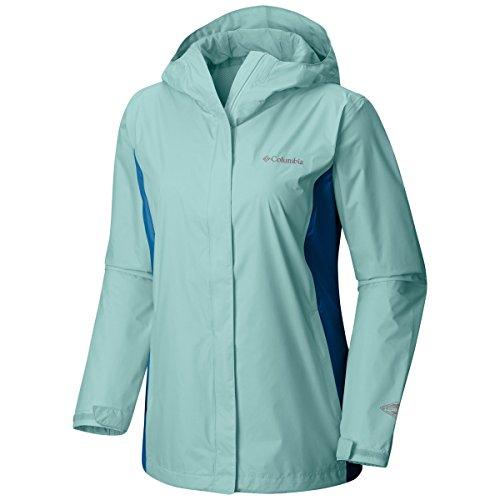 XXXXL Columbia Wind Women's Cyan Jacket Arcadia Dark II 7ngOSq8