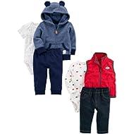 Boys' 6-Piece Jacket and Vest Set