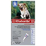K9 Advantix II 12 Pk Blue Dog Over 55 lbs