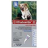 K9 Advantix II 12 Pk Blue Dog Over 55 lbs