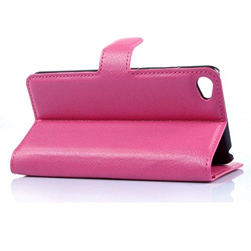 Funda Lenovo S90,Manyip Caja del teléfono del cuero,Protector de Pantalla de Slim Case Estilo Billetera con Ranuras para Tarjetas, Soporte Plegable, Cierre Magnético A