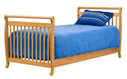 DaVinci Twin/Full Size Bed Conversion Kit, Honey Oak
