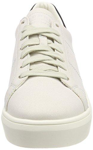 Esprit Damen Elda Lace Up Sneaker Grau (pastel Grijs)