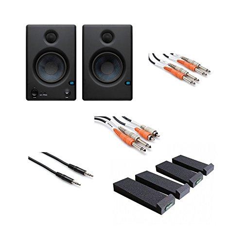 PreSonus Eris E4.5 Monitor Speaker (Pair) w/ MoPads and Cables