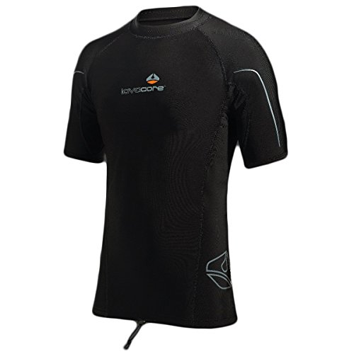 New Men's LavaCore Trilaminate Polytherm Short Sleeve Shirt (2X-Large) for Extreme Watersports by Lavacore