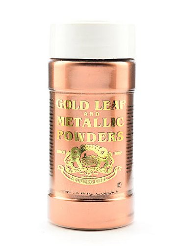 Gold Leaf & Metallic Co. Metallic and Mica Powders leaf/lining pale copper 2 oz.