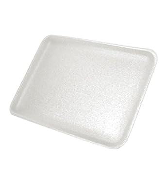 CKF 16swh, # 16S de espuma blanca bandejas de carne, desechables estándar supermercado (