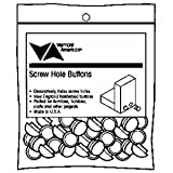 Vermont American 17134 1/2-Inch Screw Hole Buttons, 24 Pieces Per Bag