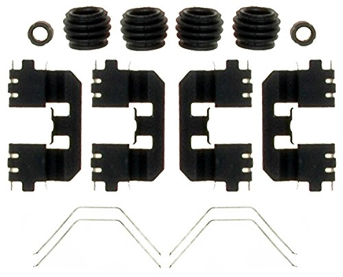 (ACDelco 18K2102X Professional Rear Disc Brake Caliper Hardware Kit with Clips, Springs, Seals, and Bushings)