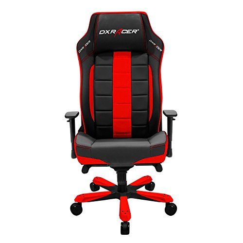 DXRacer OH CE120 NR Classic Series Black and Red Gaming Chair – Includes 1 Free Cushion