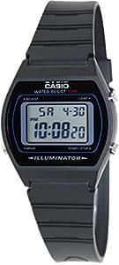 amazoncom casio   av mens black classic digital sports  casio watches