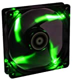 BitFenix BFF-BLF-14025G-RP Spectre 140mm LED Case Fan, Green
