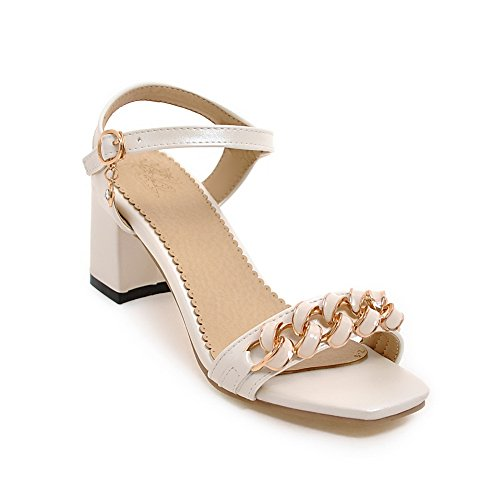 Ouvert Inconnu Femme 1TO9 Blanc Bout 6aOqAXaH
