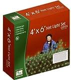 (6) sets Noma Holiday Wonderland 48957-88 150 Count Green Net / Shrub Style Christmas Lights