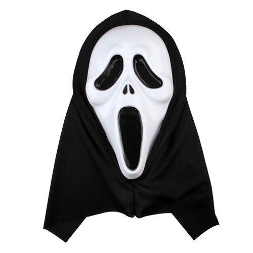 [XSport Horror Scream Ghost Mask Props Halloween Fancy Dress] (Scream Mask)